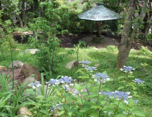 岡田美術館の庭園