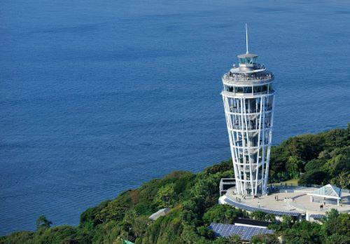 江の島シーキャンドル(展望灯台)の風景