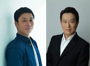 三宅弘城さんと金田明夫さん