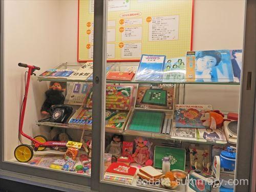 ちびまる子おもちゃ展示棚