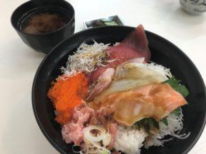 海鮮まんぷく丼