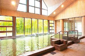 温泉牧華の大浴場