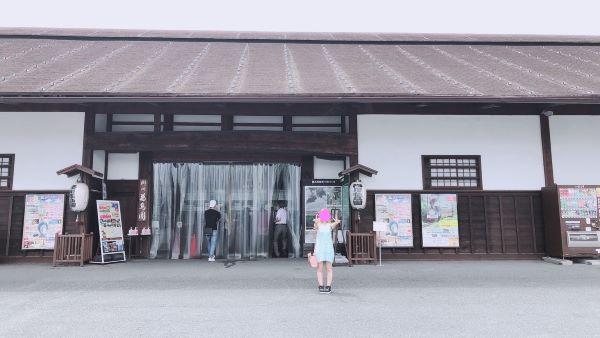 掛川花鳥園の入口