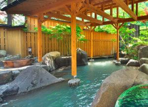 ホテル穂高の露天風呂
